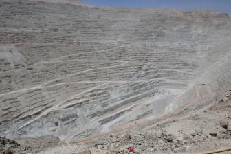 die grösste Kupfermine der Welt