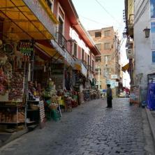 Hexenmarkt für Touristen ... kaum Besucher