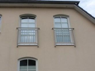 Französischer Balkon, Absturzsicherung