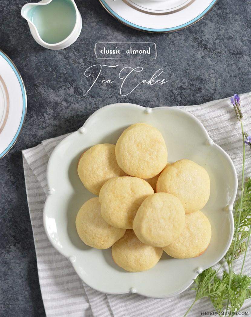 Classic Almond Tea Cakes - Heirlooms Blog