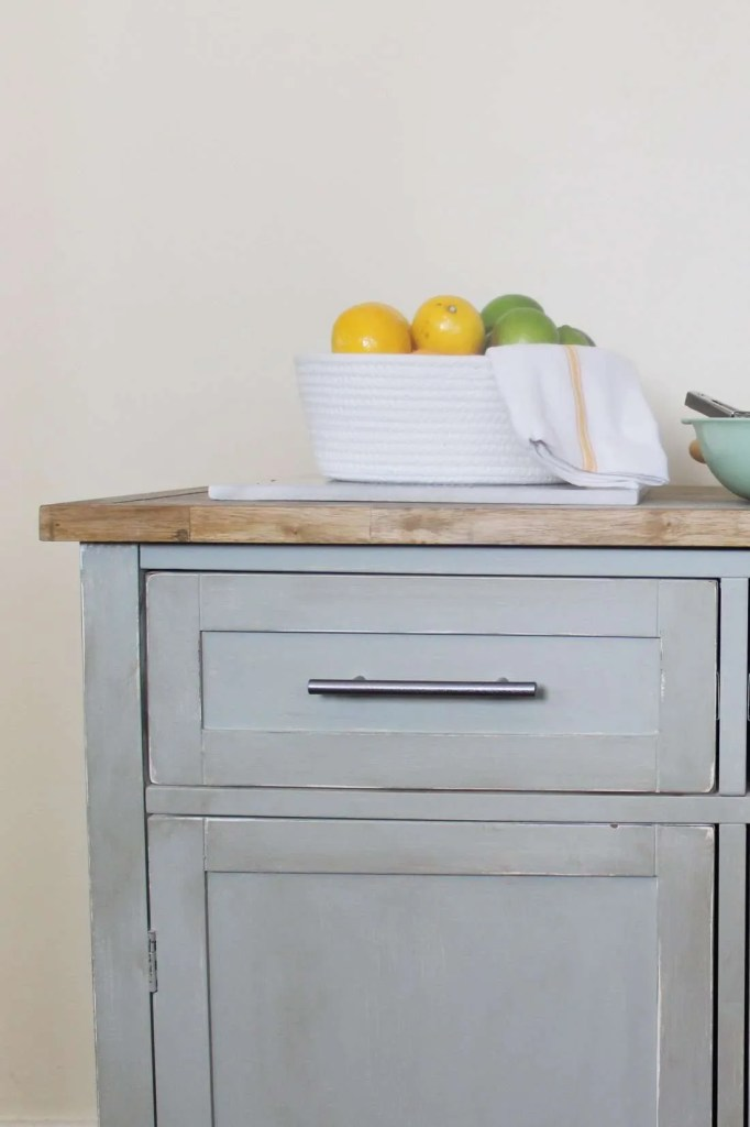 kitchen island makeover before and after