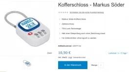 CSU-Online-Shop zur Wahl gehackt: Skript sammelt persönliche Daten