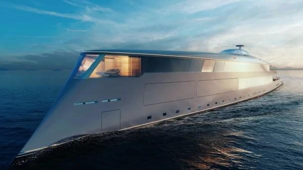 #BillGates kauft #Yacht mit #Wasserstoff Antrieb