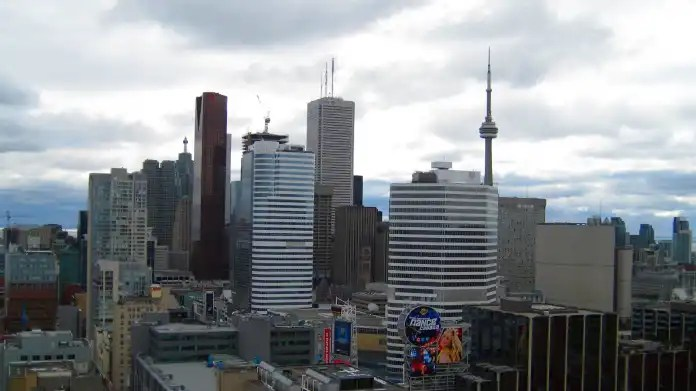 Skyline with CN-Tower
