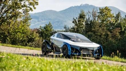 Brennstoffzelle: E-Zweisitzer soll Pendeln klimaverträglicher machen