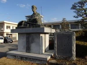 忍者の里伊賀市の芭蕉像