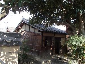 赤坂町の芭蕉翁誕生の家