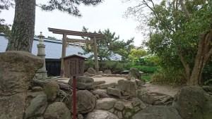 西宮神社の伊勢神宮遙拝所