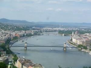 ブダペストの街並
