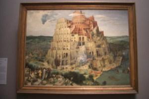 ブリューゲルの『バベルの塔』