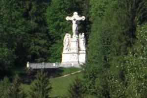 オーバーアマガウの十字架