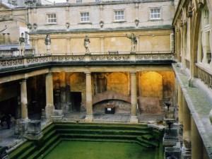 ローマ時代の大浴場跡