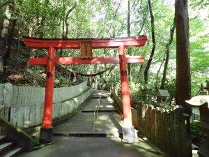 犬鳴山七宝龍寺への参道