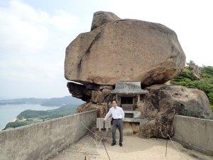 小豆島の丁場の1つ「重ね岩」
