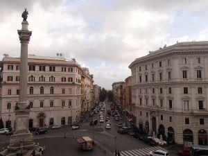 ローマ市内の眺め