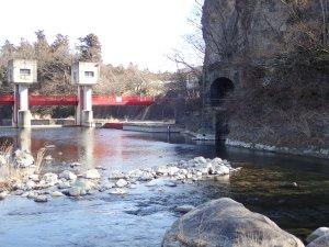 那須疏水の旧取水口