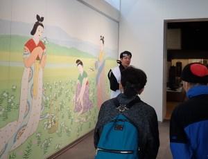 くすり学習館での岩永甲賀市長のご挨拶