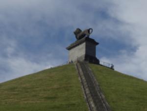 ワーテルロー古戦場のライオンの丘