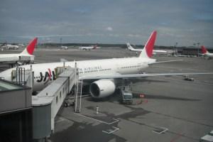 今回利用した日本航空