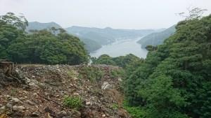 金田城からの眺め
