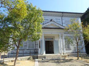 淡路ファームパーク内の旧三原郡役所