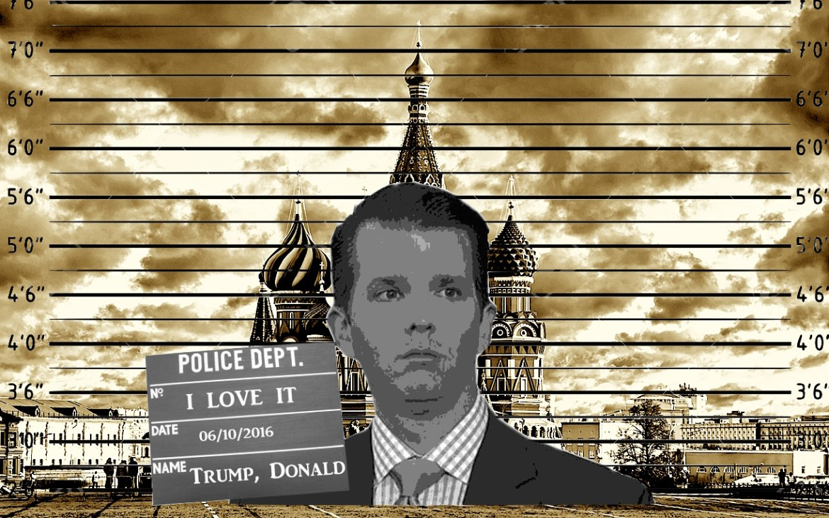 'My Wonderful Son' Don Jr.'s Meeting With Russians Was 'Totally Legal', Trump Inexplicably Shouts