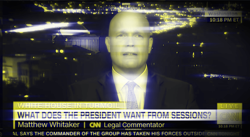In 2017, Matthew Whitaker Detailed Exactly How He Would Prevent Robert Mueller From Doing His Job