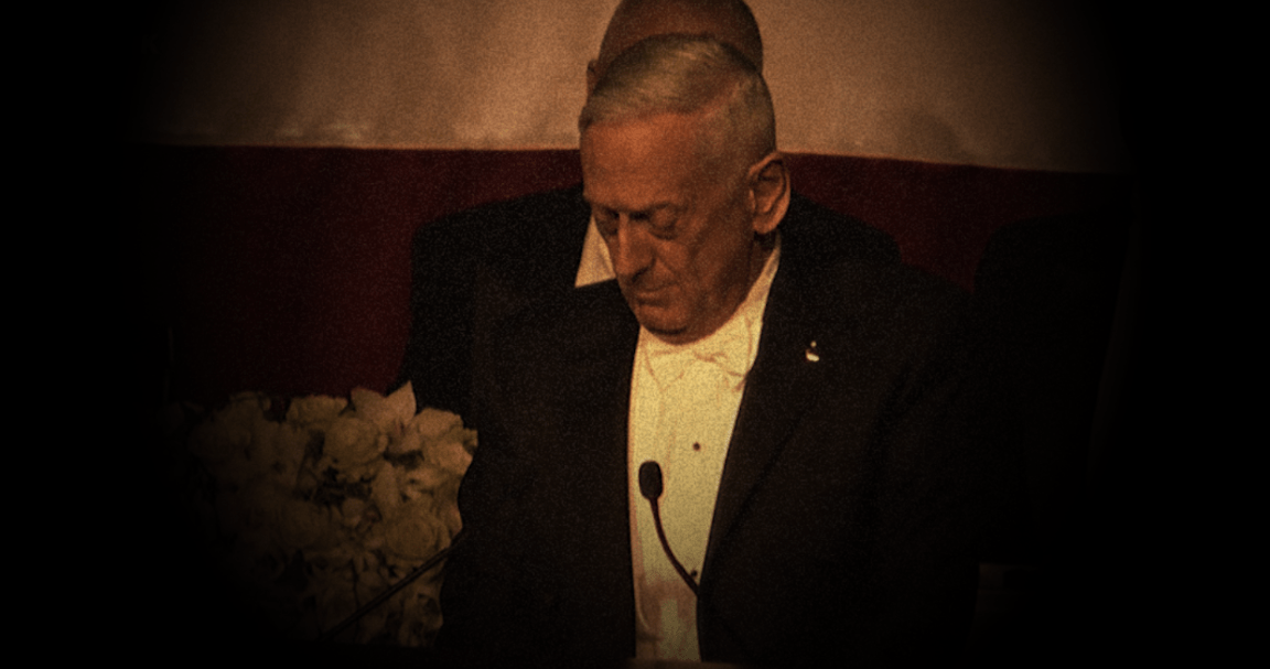 Mattis Torches Trump: 'I Earned My Spurs On The Battlefield, He Earned His In A Letter To A Doctor'