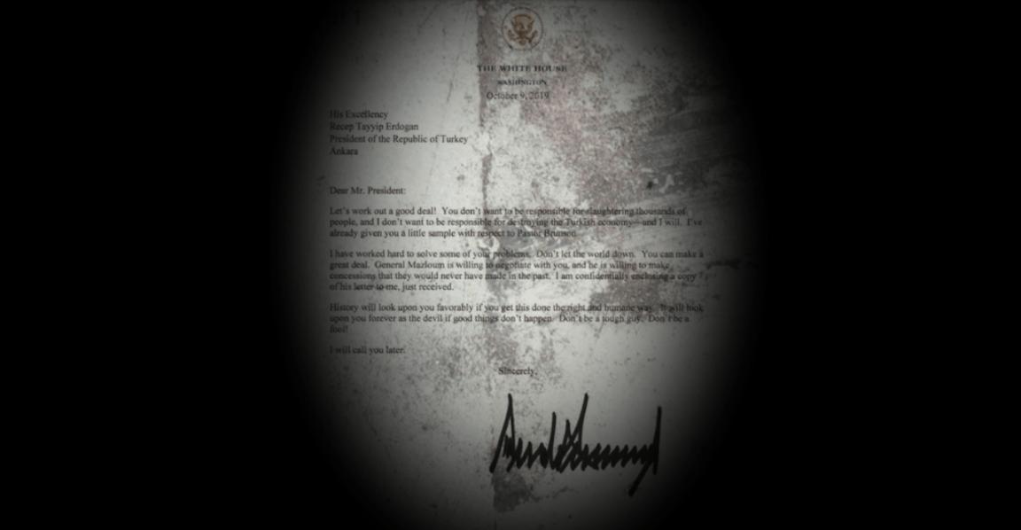 Read Donald Trump's Embarrassing Letter To Recep Tayyip Erdogan