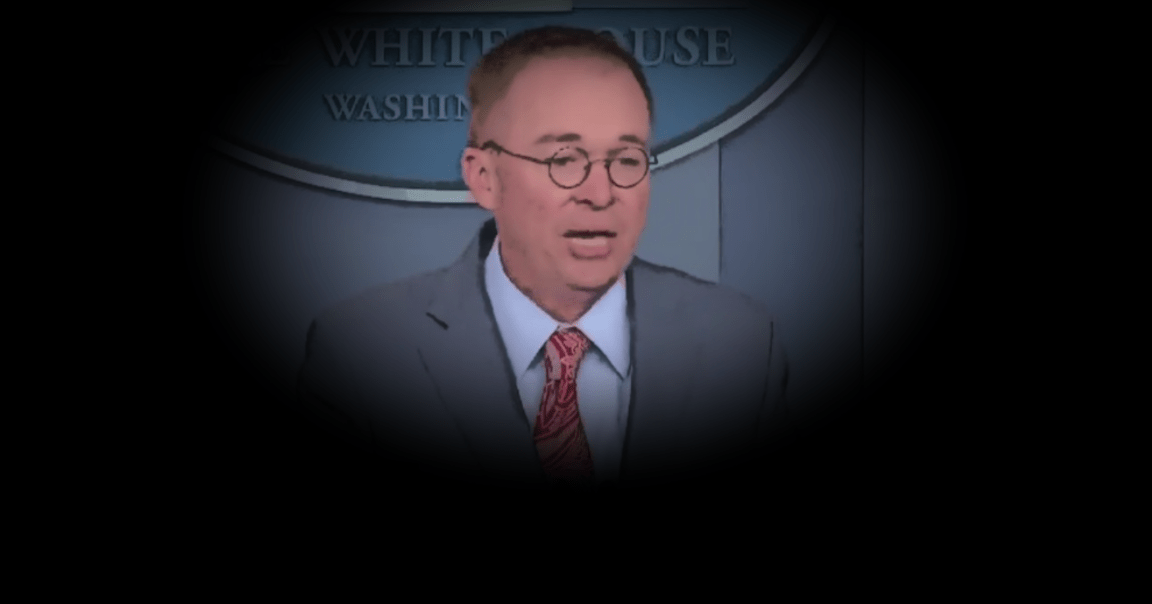 'That's Why We Held Up The Money': Did Mick Mulvaney Just Accidentally Impeach Trump?