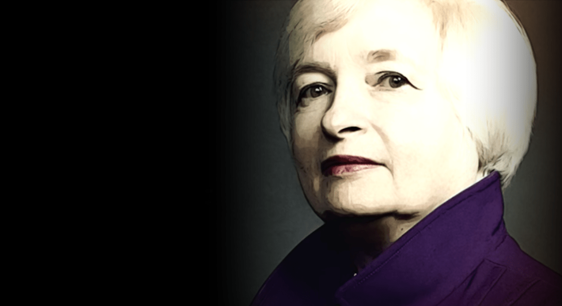 Meet Janet Yellen, Chief Risk Officer, Planet Earth