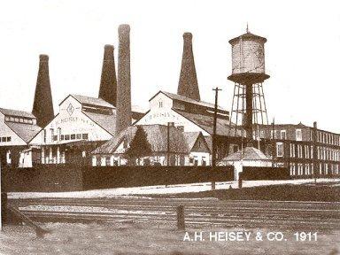 Heisey Glass Plant Newark Ohio