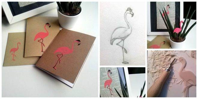 Flamingo Collage_klein