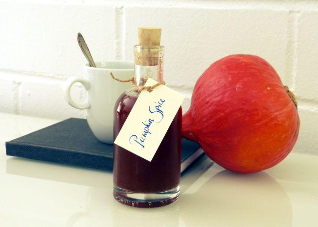 Rezept für Pumpkin Spice Sirup