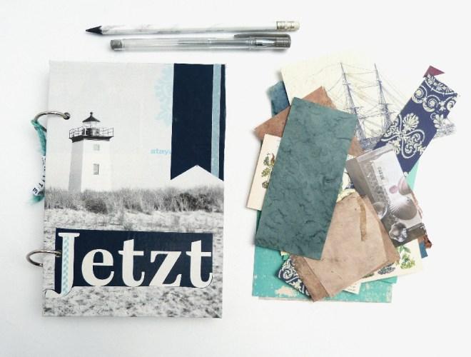 Art Journal aus Papierresten