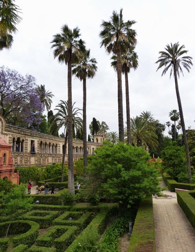 Garten von Real Alcazara