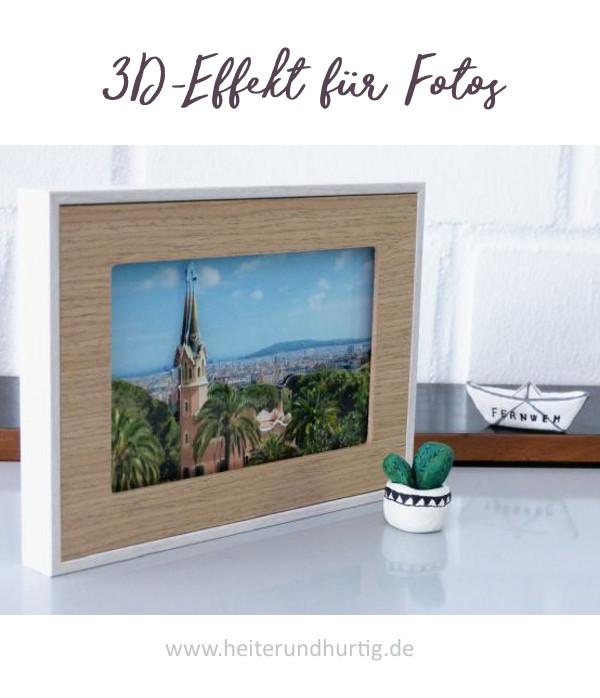 So bekommen deine Urlaubsfotos einen 3D-Effekt.