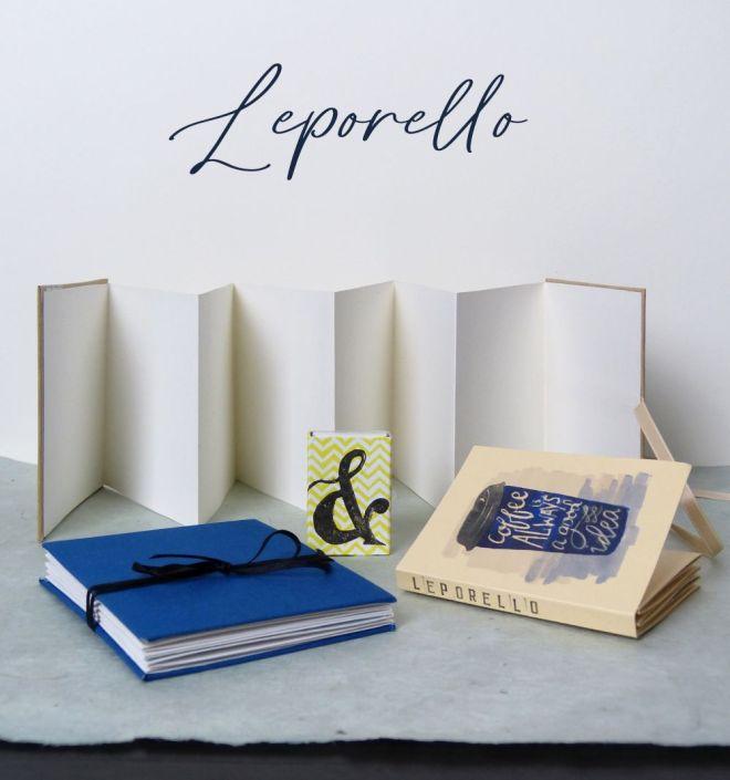 Verschiedene Leporellos