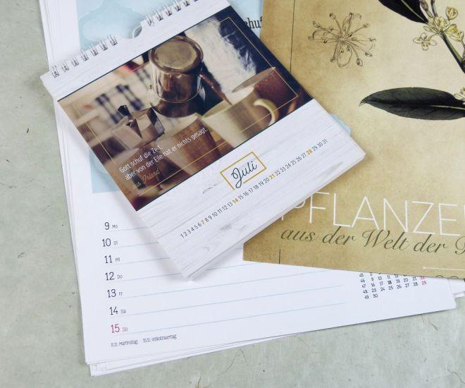 alte Kalenderblätter