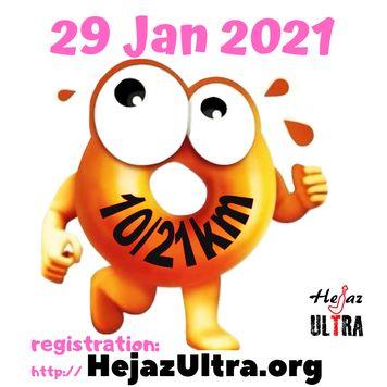 Donut run 29 Jan 2021