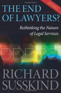 The End of Lawyers by Richard Susskind
