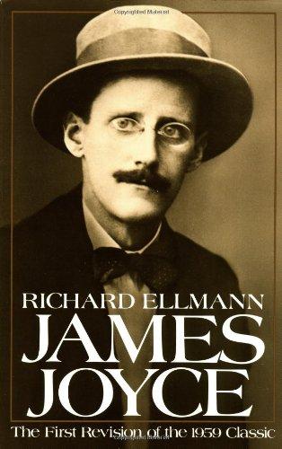 James Joyce by Richard Ellmann