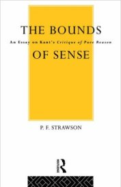 The Bounds of Sense by PF Strawson