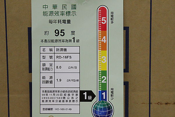 開箱文-日立除濕機RD-16FS