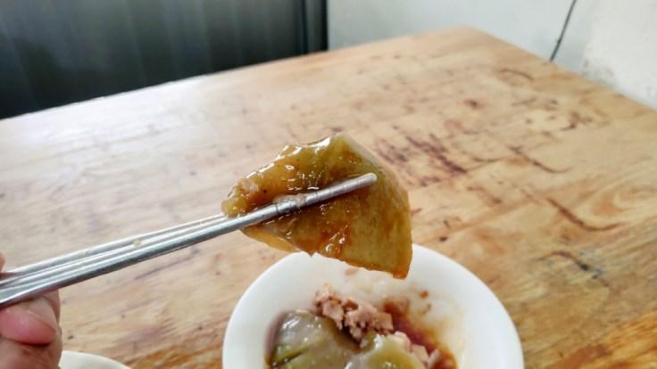 【花蓮瑞穗】網路美食嘗鮮-瑞穗張的綠茶肉圓