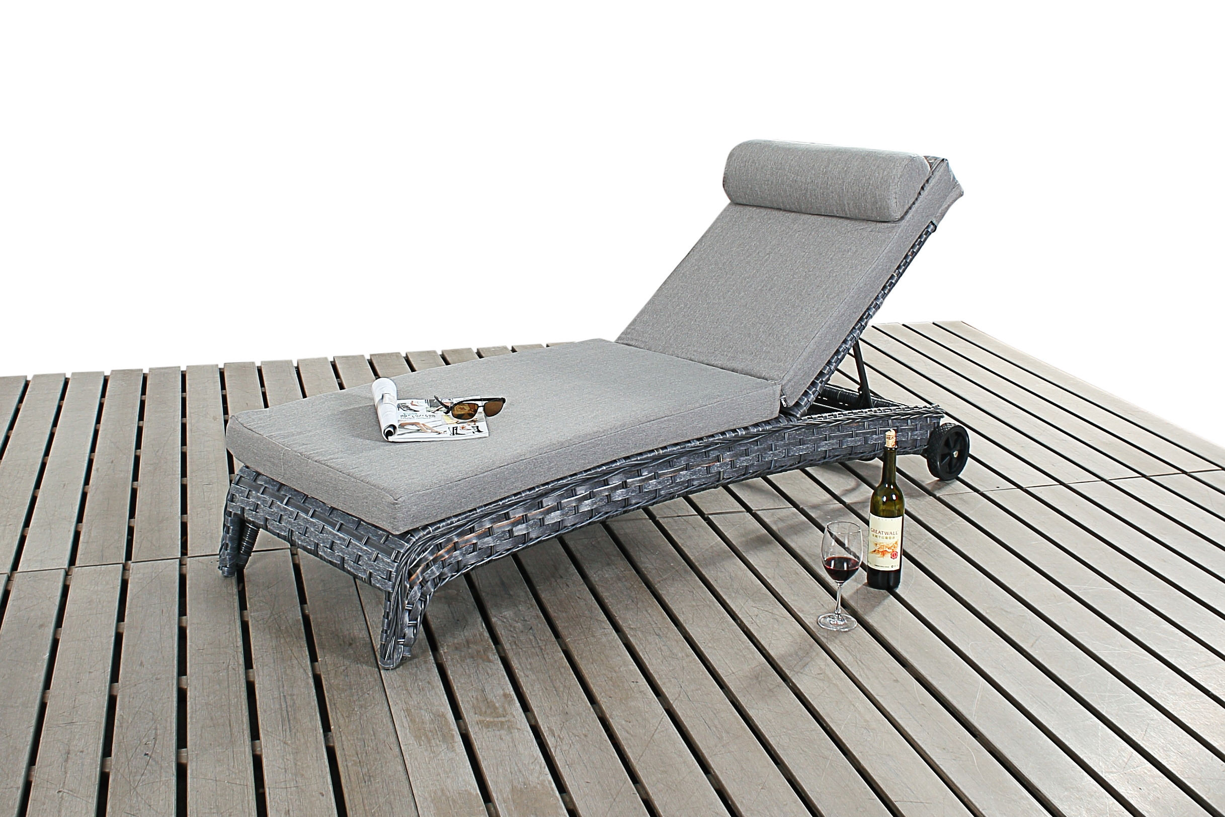 Amazing Gray Wicker Outdoor Furniture And Port Royal