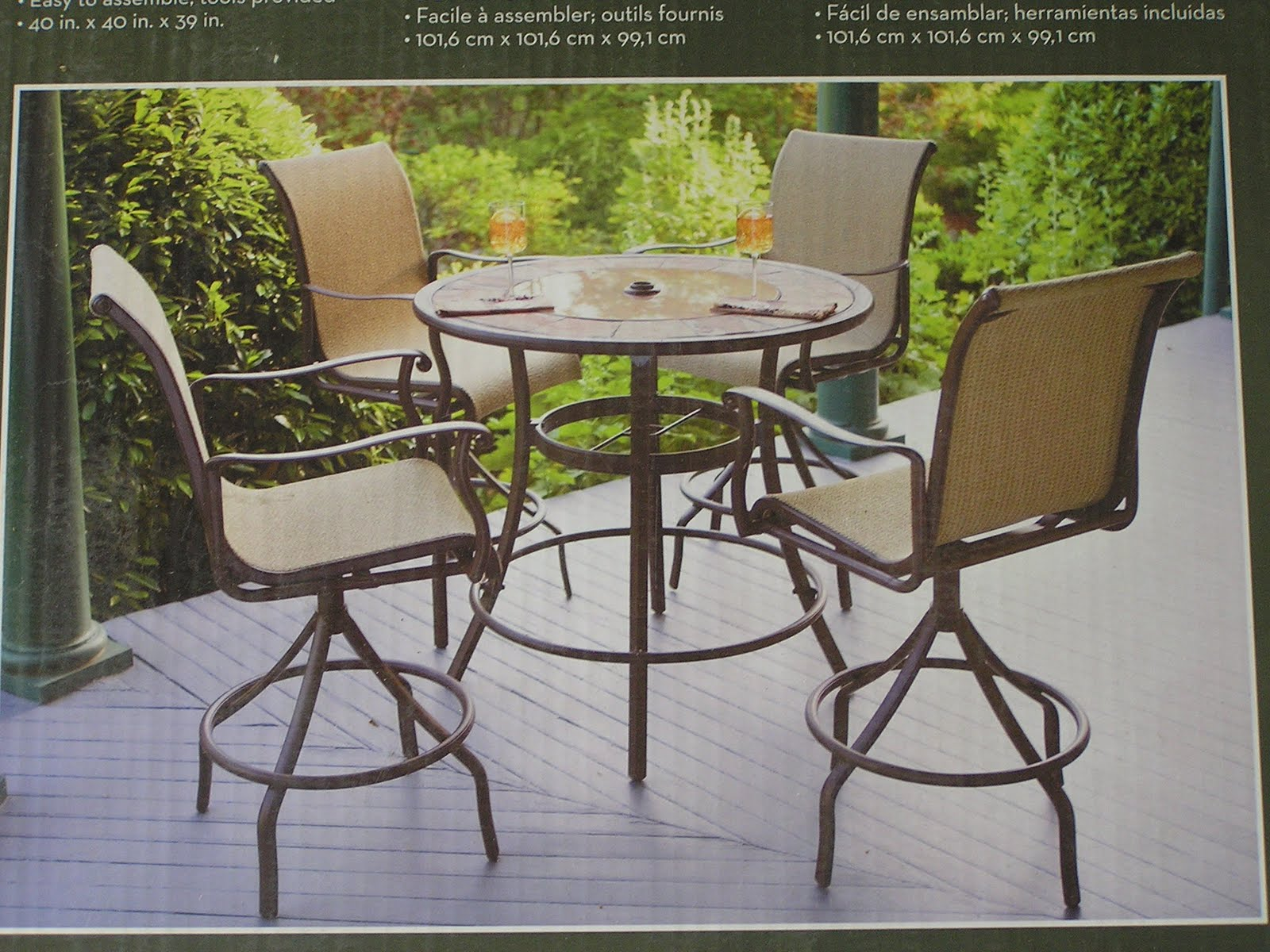 best patio furniture table and chairs
