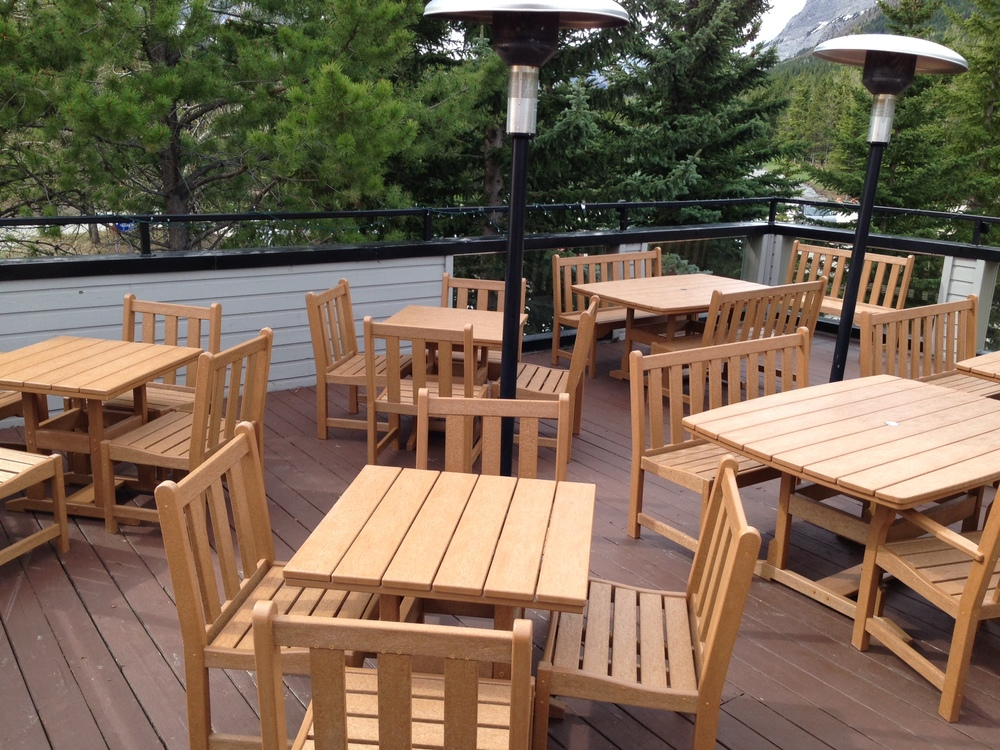 amazing commercial patio tables and