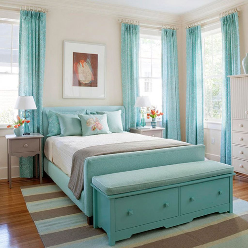 blue curtains girls bedrooms color blue