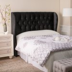 Furniture Adorable Design Ideas Of Unique Headboards With Black Color Leather Tufted Headboard Modern Bed Headboards Bed Headboard Designs Nice Design Ideas Of Unique Headboards Helda Site Furnitures Home Design